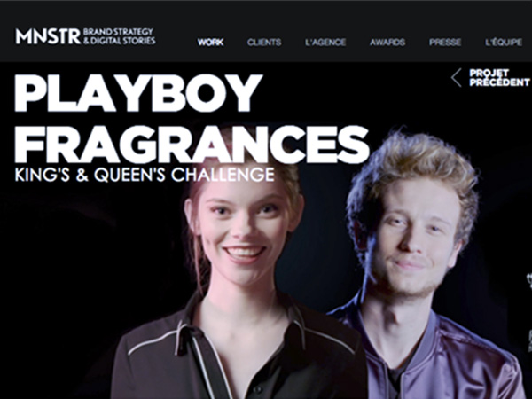 MNSTR pour Playboy Fragrances